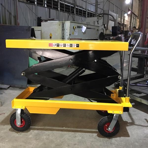 bàn nâng thủy lực 1000kg cao 1.7 mét