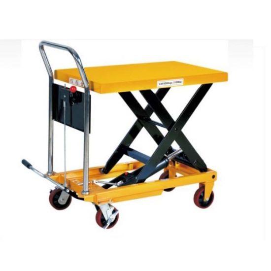bàn nâng thủy lực 200kg staxx