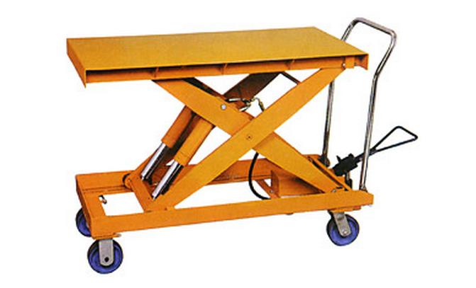 Cấu tạo bàn nâng thủy lực nâng hàng
