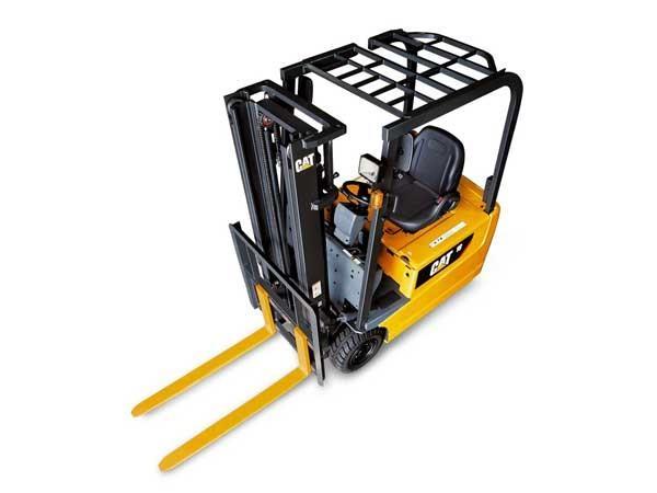 Xe nâng điện 3 bánh Cat 1 tấn 4 – 2 tấn
