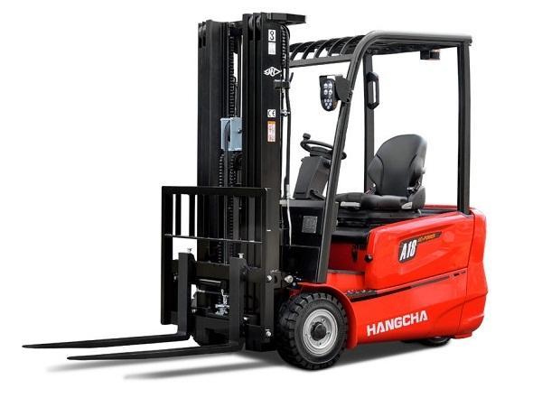 Xe nâng điện 3 bánh Hangcha 1,3 tấn – 2 tấn