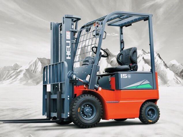Xe nâng điện kho lạnh Heli 1,5 tấn